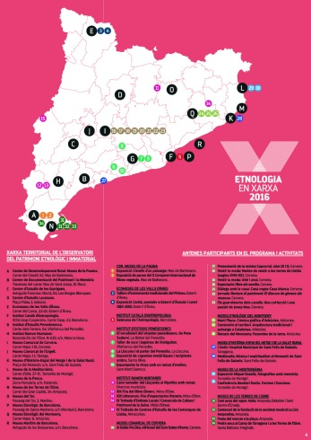 Etnologia en Xarxa 2016 (fins agost) - Mapa