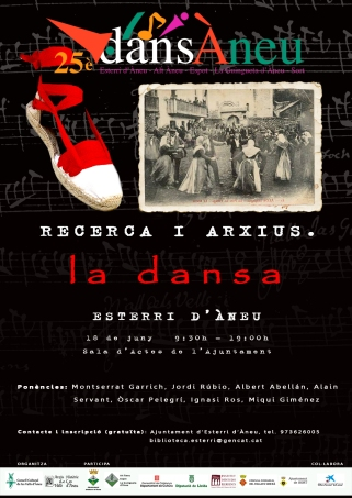 CARTELL JORNADA RECERCA I ARXIUS. LA DANSA RED