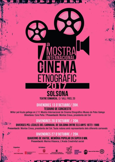 cartell Mostra cinema etnogràfic