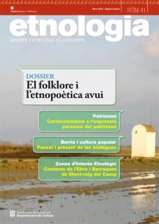 Revista d'Etonologia de Catalunya. Nœm. 41