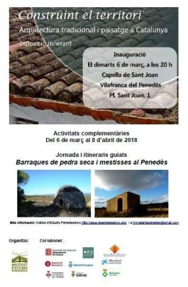 Exposició Construint... Vilafranca - maç 2018