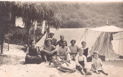 Anar a fer tenda - Acampades pescadors
