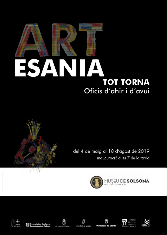 cartell Artesania baixa